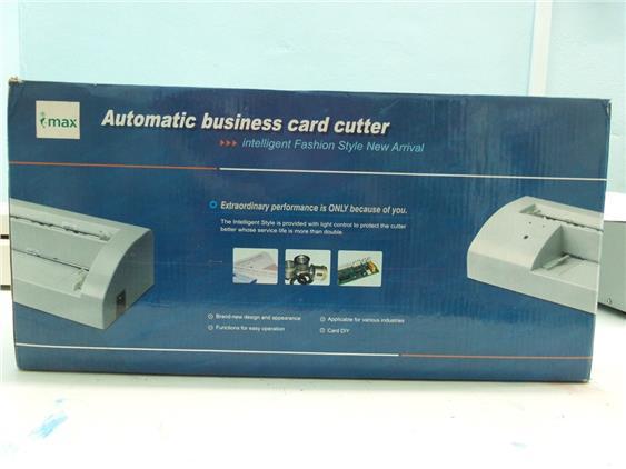 business card cutter machine